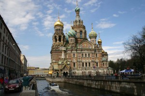 The Church of the Spilled Blood, St. Petersburg