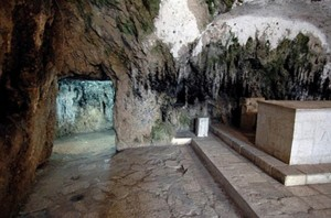 St Peter's Grotto,the cave church where St. Peter first celebrated the mass, Adana Turkey